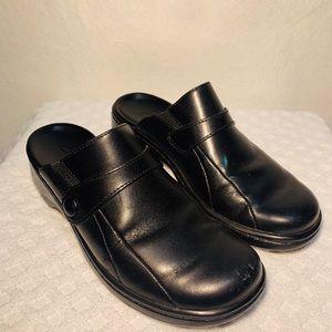 Clark's Slide On Sandals